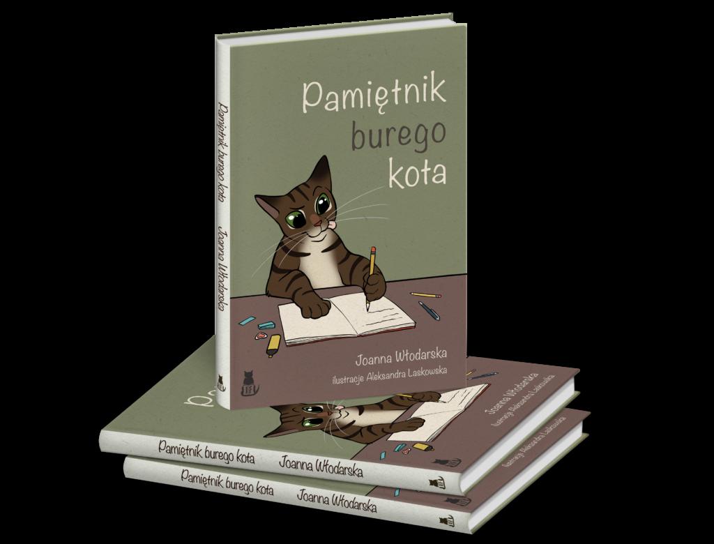 Pamiętnik burego kota Joanna Włodarska